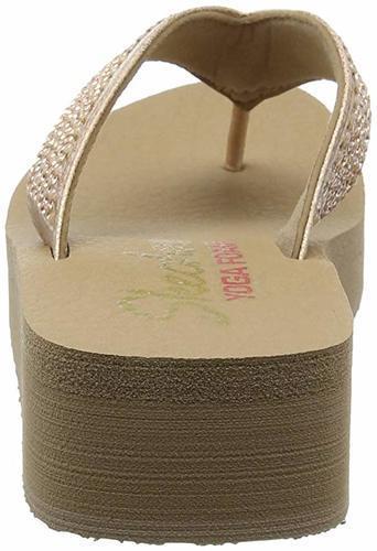 Cali Vinyasa Thong Sandals - Rose Gold