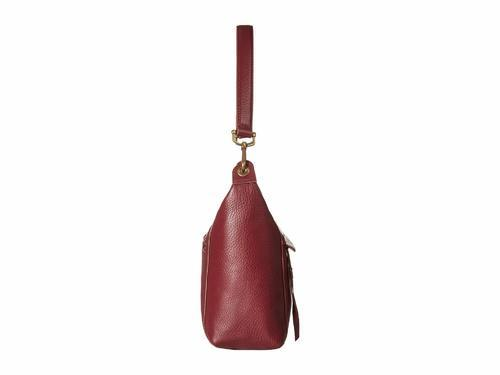 The Sak Women s Alameda Leather Hobo Bag - Cabernet Gold - BLINQ 0456445846f12