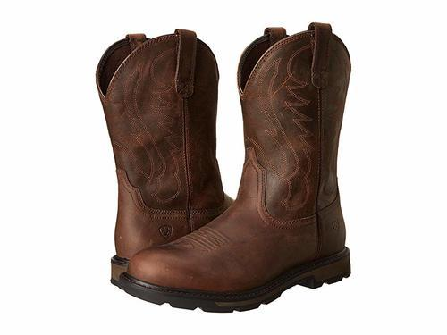 professional sale official images check out Ariat Men's Groundbreaker Work Boots - Brown - Size:7 - Check Back ...