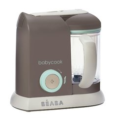 Beaba Babycook Pro Dishwasher Safe Baby Food Maker Cooks - Latte Mint