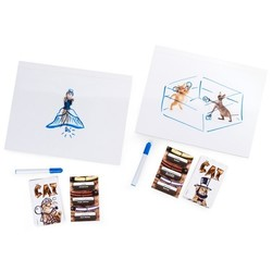 Spin Master The Cat Drawing Board Game