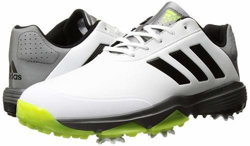 b1922da1f0be Adidas Men s adiPower Bounce Golf Shoes - White-Black-Green - Size  ...