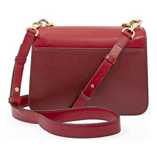 3cac1008e0d24 Michael Kors Women s Mott Chain Swag Shoulder Bag - Maroon - BLINQ