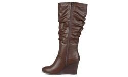 Journee Women's Slouch Knee-High Dress Boots -