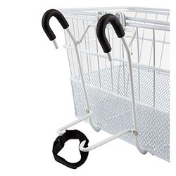 Sunlite Mesh Bottom Lift-Off Bicycle Basket, White
