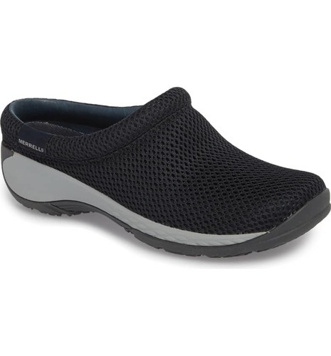 release info on fresh styles official site Merrell Women's Encore Breeze Slip-On Clog - Navy - Size: 9 ...