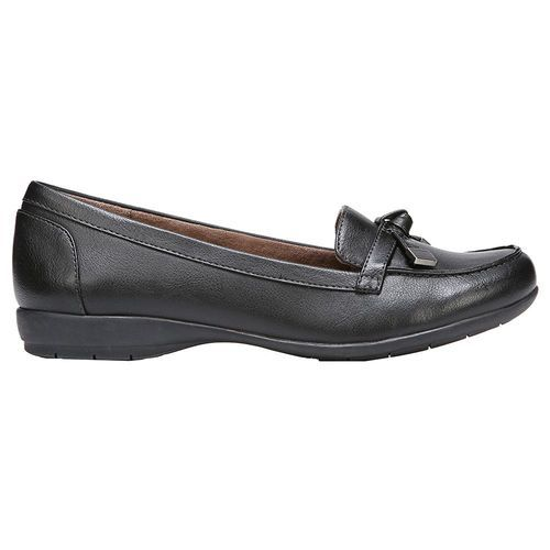 b58a845e5ee Natural Soul Women s Gracee Loafer - Black - Size 9.5 - BLINQ