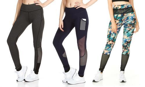 b541a711efb RAG Womens Activewear Workout Leggings 3Pk - Multi - Size  Medium(8 ...