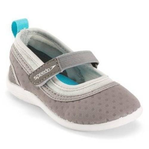 Speedo Girls' Youth Water Shoes - Gray