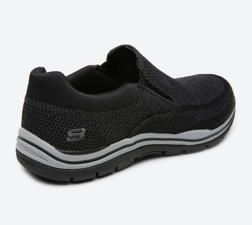 finest selection 67dbd fcefd Skechers Men s Relaxed Fit Expected-Gomel Slip-On Shoe - Black - Size  ...