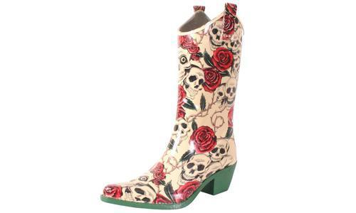 a6c935393f5 Nomad Footwear Women's Cowboy Rubber Rain Boots - Multi - Size:11M ...