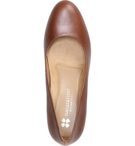 135332f648e Naturalizer Women's Michelle Almond Toe Dress Pump - Caramel - Size: 9.5