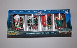 ICUP National Lampoon's Christmas Vacation Comedy Mix Pint Glass - 4Pack