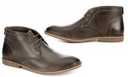 Franco Fortini Men's Chukka Boots - Gray