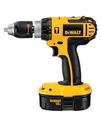 """DeWalt DC725K-2 18-Volt Ni-Cad 1/2"""" Cordless Compact Hammer Drill"""