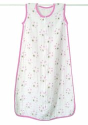 Aden & Anais 100% Cotton Muslin Sleeping Bag Large