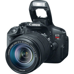 Canon EOS Rebel T5i 18MP Digital SLR Camera 7.5X Optical Zoom