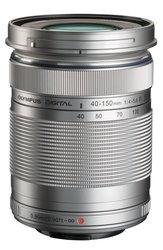 OLYMPUS V315030SU000 M.Zuiko Digital ED 40-150mm f4.0-5.6 R Lens Silver