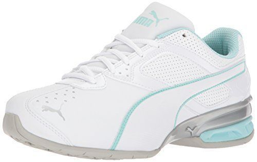 Wide Running Shoes - White-Mint-Silver