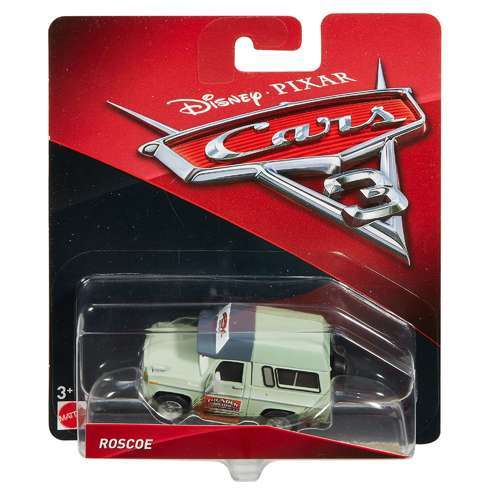 Disney Cars 3 Pixar Roscoe The Promoter Character Car Vehicle Toy