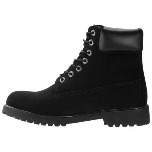 c7f334b9404 Lugz Men's Convoy Water Resistant Lug Boots - Black - Size:13