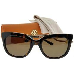 c1df554653e Tory Burch Women s 53mm Round Shape Lens Sunglasses - Dark Tortoise ...