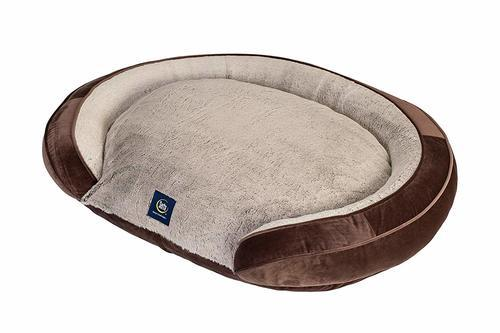 Sensational Serta Shredded Foam Oval Couch Dog Bed Brown Size 36X27 Check Back Soon Uwap Interior Chair Design Uwaporg