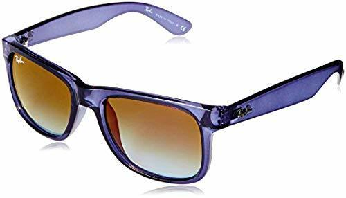 bd2314571f0a Ray-Ban Justin Flash Men'S Sunglasses: Blue Frames And Green ...