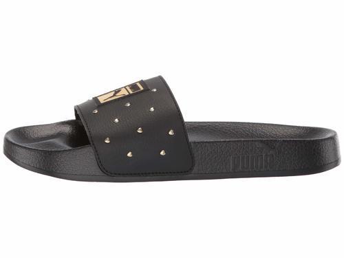 Leadcat Slide Sandals - Black/Gold