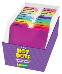 Educational Insights Hot Dots Science Standards-Based Review Cards - Gr 1