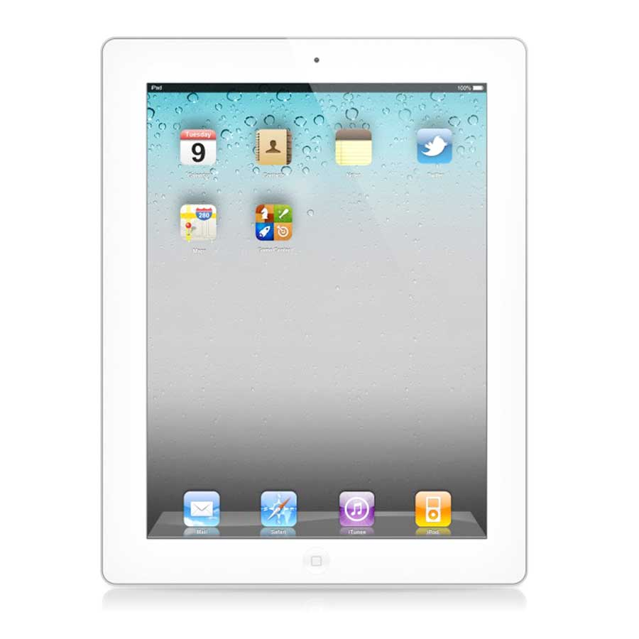 Apple iPad 3 97quot Tablet 16GB iOS White MD397LLADIpad 3 Back Png