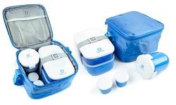 Bentgo Lunch Box Set - Blue