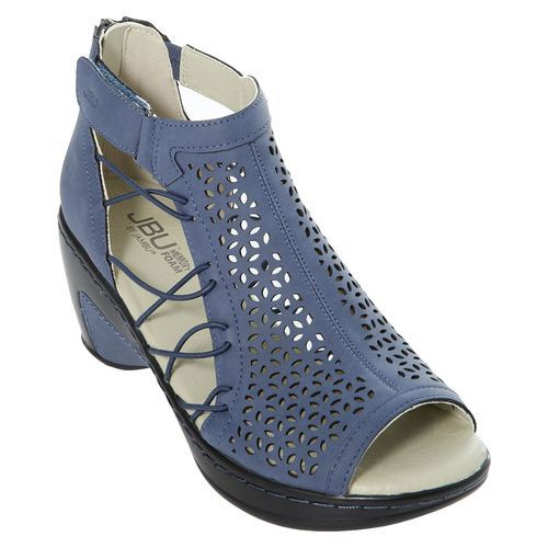 74a2f86cff72a JBU by Jambu Women's Nelly Wedge Sandals - Navy - Size: 8 - Check Back Soon