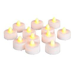 Everlasting Tealights with Soft Flickering Light