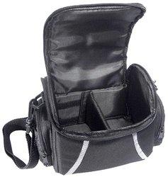 Zeikos Deluxe Soft Medium Camera and Video Bag - Black (ZE-CA48B)