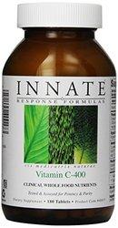 Innate Response Formulas Vitamin C-400 Supplement, 180 Count