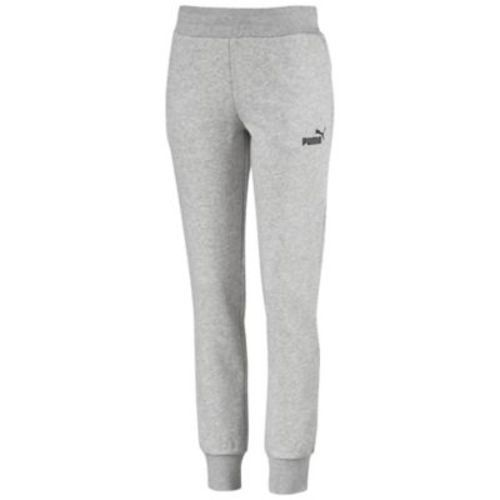 1b269959 PUMA Women's Essentials Sweatpant - Light Gray Heather - Size:S