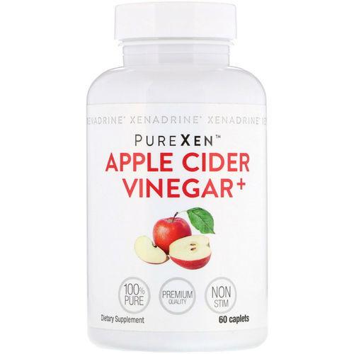 Xenadrine Purexen Apple Cider Vinegar Weight Loss Supplement 60 Count