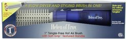 "Helen of Troy 1574 Tangle Free Hot Air Brush - White - 1"" Barrel"
