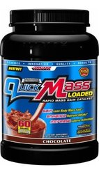 AllMax Nutrition QuickMass Loaded - 3.3 Lbs. - Chocolate