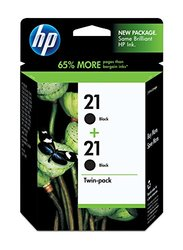 HP 21 (C9508FN) Black Original Ink Cartridges, 2 pack