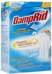 DampRid FG83K Hanging Moisture Absorber Fresh Scent, 1 Box of 3 Count