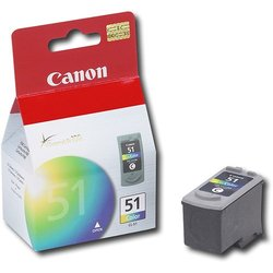 Canon CL-51 High-Capacity Color Cartridge ink