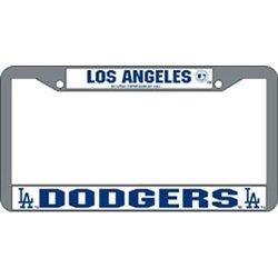 Los Angeles Dodgers Chrome License Plate Frame