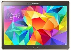 "Samsung Galaxy Tab S 10.5"" Tablet 32GB - Titanium Bronze (SM-T800NTSEXAR)"
