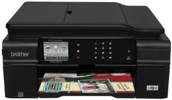 Brother Wireless Color Inkjet Multifunction Printer (MFCJ650DW)