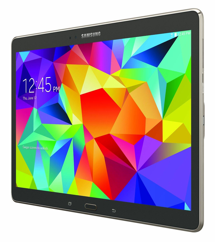 samsung galaxy tab s 10 5 tablet 32gb titanium bronze. Black Bedroom Furniture Sets. Home Design Ideas