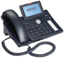 Snom Technology 370 IP Phone - Black (BOX3039)