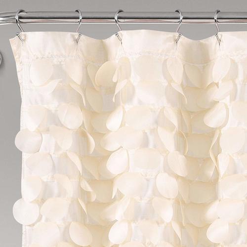 Textured Shimmer Lillian Shower Curtain