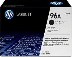 HP 96A (C4096A) Black Original LaserJet Toner Cartridge